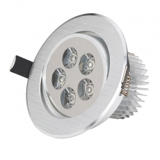 LED bodovka do sádrokartonu 5W 230V 6000K EEHO-LEDDOWN-5W-CW