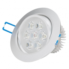 LED bodovka do sádrokartonu 7W 230V 6000K EEHO-LEDDOWN-7W-CW